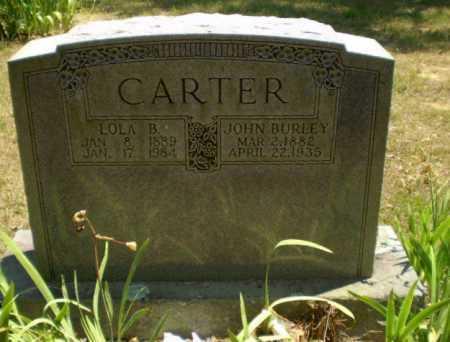 CARTER, JOHN BURLEY - Craighead County, Arkansas | JOHN BURLEY CARTER - Arkansas Gravestone Photos
