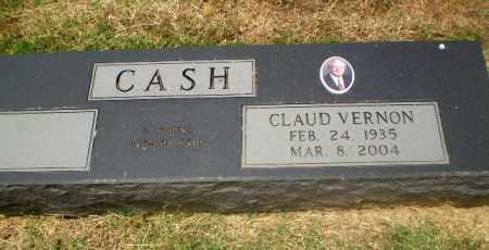 CASH, CLAUD VERNON - Craighead County, Arkansas | CLAUD VERNON CASH - Arkansas Gravestone Photos