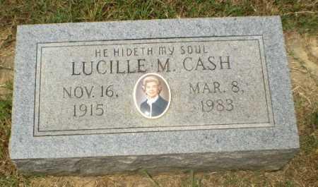 CASH, LUCILLE M - Craighead County, Arkansas | LUCILLE M CASH - Arkansas Gravestone Photos
