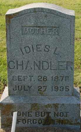 CHANDLER, IDIES L - Craighead County, Arkansas | IDIES L CHANDLER - Arkansas Gravestone Photos
