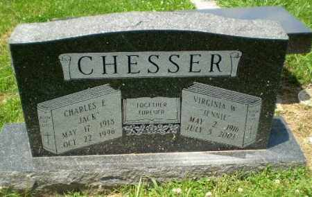 CHESSER, CHARLES E - Craighead County, Arkansas | CHARLES E CHESSER - Arkansas Gravestone Photos