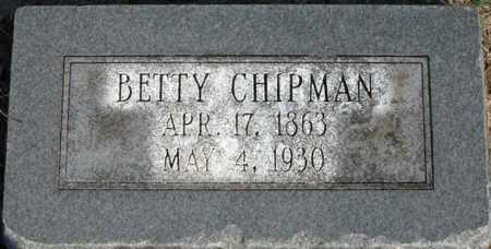 CHIPMAN, BETTY - Craighead County, Arkansas | BETTY CHIPMAN - Arkansas Gravestone Photos