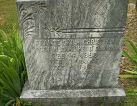 CHRISTIAN  (VETERAN WWI), GEO A - Craighead County, Arkansas | GEO A CHRISTIAN  (VETERAN WWI) - Arkansas Gravestone Photos