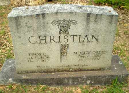 CHRISTIAN, THOS C - Craighead County, Arkansas | THOS C CHRISTIAN - Arkansas Gravestone Photos