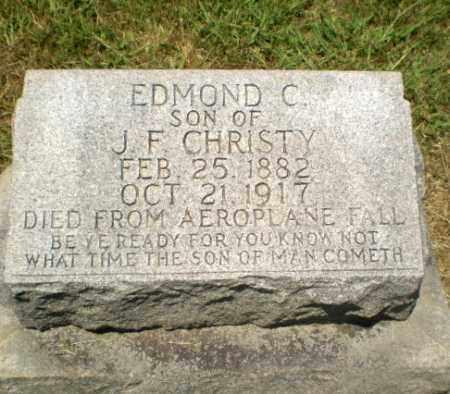 CHRISTY, EDMOND C - Craighead County, Arkansas | EDMOND C CHRISTY - Arkansas Gravestone Photos