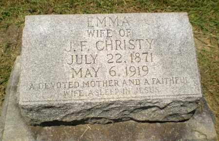 CHRISTY, EMMA - Craighead County, Arkansas | EMMA CHRISTY - Arkansas Gravestone Photos