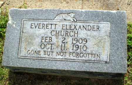 CHURCH, EVERETT ALEXANDER - Craighead County, Arkansas   EVERETT ALEXANDER CHURCH - Arkansas Gravestone Photos