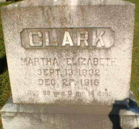 CLARK, MARTHA ELIZABETH - Craighead County, Arkansas   MARTHA ELIZABETH CLARK - Arkansas Gravestone Photos