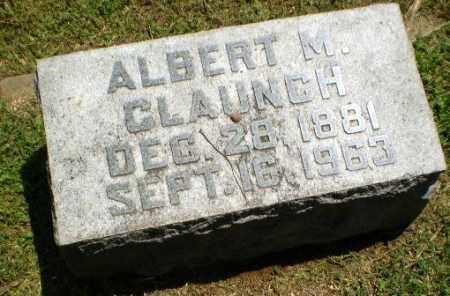 CLAUNCH, ALBERT M - Craighead County, Arkansas   ALBERT M CLAUNCH - Arkansas Gravestone Photos