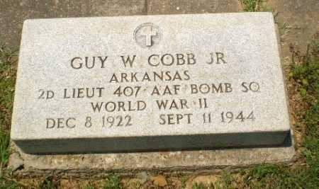 COBB, JR  (VETERAN WWII), GUY W - Craighead County, Arkansas | GUY W COBB, JR  (VETERAN WWII) - Arkansas Gravestone Photos