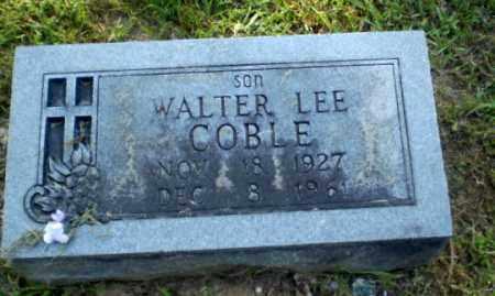 COBLE, WALTER LEE - Craighead County, Arkansas | WALTER LEE COBLE - Arkansas Gravestone Photos