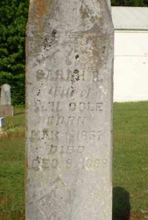 COLE, SARAH R - Craighead County, Arkansas   SARAH R COLE - Arkansas Gravestone Photos