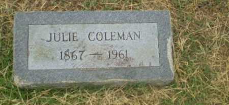 COLEMAN, JULIE - Craighead County, Arkansas | JULIE COLEMAN - Arkansas Gravestone Photos