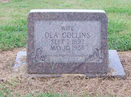 COLLINS, OLA - Craighead County, Arkansas | OLA COLLINS - Arkansas Gravestone Photos