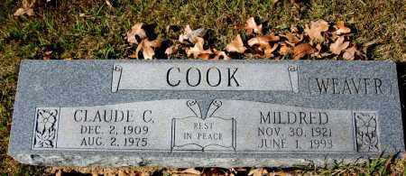 COOK, MILDRED - Craighead County, Arkansas | MILDRED COOK - Arkansas Gravestone Photos