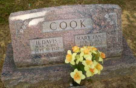 COOK, MARY JANE - Craighead County, Arkansas   MARY JANE COOK - Arkansas Gravestone Photos