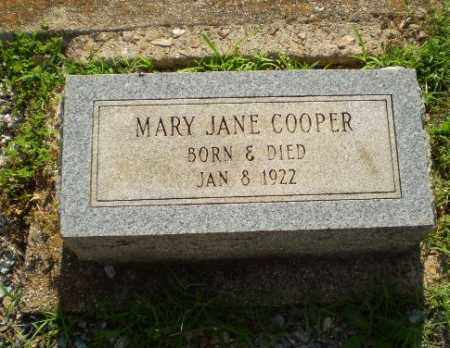 COOPER, MARY JANE (INFANT) - Craighead County, Arkansas | MARY JANE (INFANT) COOPER - Arkansas Gravestone Photos