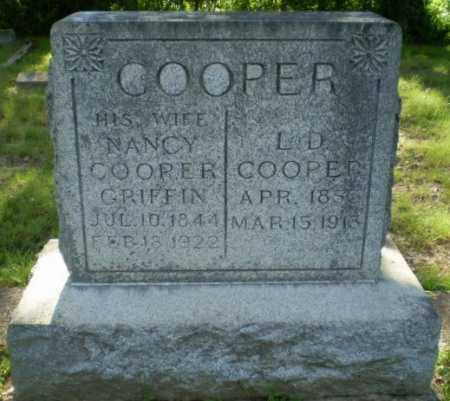GRIFFIN COOPER, NANCY - Craighead County, Arkansas | NANCY GRIFFIN COOPER - Arkansas Gravestone Photos