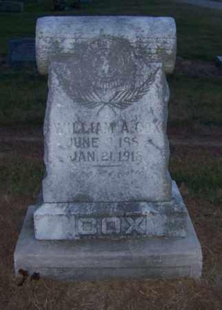 COX, WILLIAM A. - Craighead County, Arkansas | WILLIAM A. COX - Arkansas Gravestone Photos