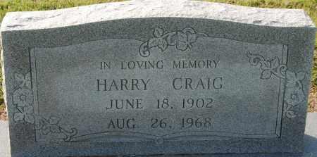 CRAIG, HARRY - Craighead County, Arkansas   HARRY CRAIG - Arkansas Gravestone Photos