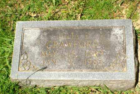 CRAWFORD, JULIA - Craighead County, Arkansas | JULIA CRAWFORD - Arkansas Gravestone Photos