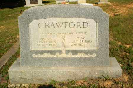 CRAWFORD, NORA - Craighead County, Arkansas | NORA CRAWFORD - Arkansas Gravestone Photos
