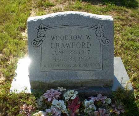 CRAWFORD, WOODROW W. - Craighead County, Arkansas | WOODROW W. CRAWFORD - Arkansas Gravestone Photos