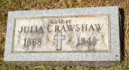 CRAWSHAW, JULIA - Craighead County, Arkansas   JULIA CRAWSHAW - Arkansas Gravestone Photos