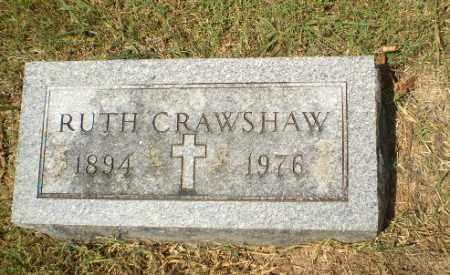 CRAWSHAW, RUTH - Craighead County, Arkansas | RUTH CRAWSHAW - Arkansas Gravestone Photos