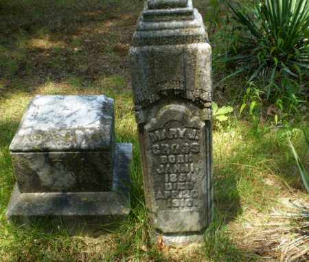 CROSS, MARY J - Craighead County, Arkansas   MARY J CROSS - Arkansas Gravestone Photos