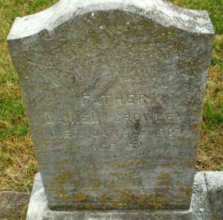 CROWLEY, DANIEL - Craighead County, Arkansas   DANIEL CROWLEY - Arkansas Gravestone Photos