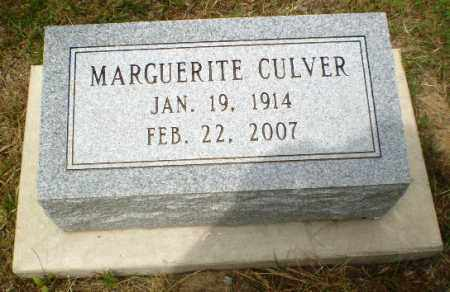 CULVER, MARGUERITE - Craighead County, Arkansas | MARGUERITE CULVER - Arkansas Gravestone Photos