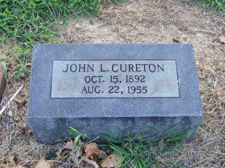 CURETON, JOHN L. - Craighead County, Arkansas | JOHN L. CURETON - Arkansas Gravestone Photos