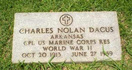 DACUS  (VETERAN WWII), CHARLES NOLAN - Craighead County, Arkansas   CHARLES NOLAN DACUS  (VETERAN WWII) - Arkansas Gravestone Photos