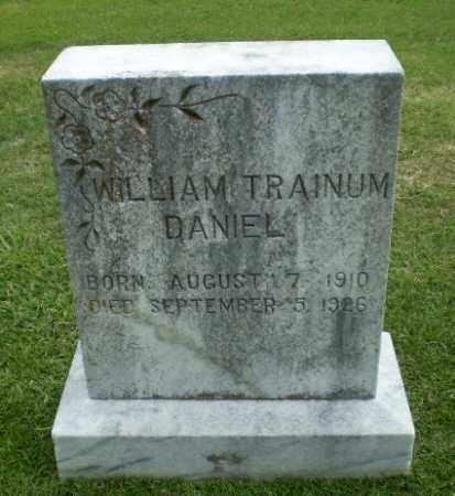 DANIEL, WILLIAM TRAINUM - Craighead County, Arkansas | WILLIAM TRAINUM DANIEL - Arkansas Gravestone Photos