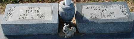 DARR, GERTRUDE - Craighead County, Arkansas   GERTRUDE DARR - Arkansas Gravestone Photos