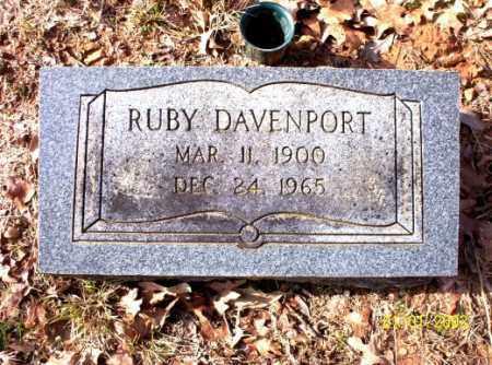 DAVENPORT, RUBY - Craighead County, Arkansas | RUBY DAVENPORT - Arkansas Gravestone Photos