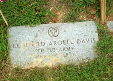 DAVIS  (VETERAN WWII), LEONARD ARDELL - Craighead County, Arkansas | LEONARD ARDELL DAVIS  (VETERAN WWII) - Arkansas Gravestone Photos