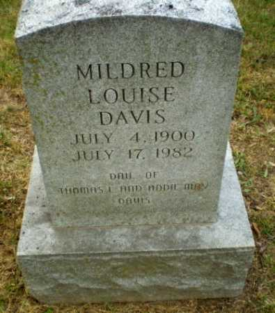 DAVIS, MILDRED LOUISE - Craighead County, Arkansas | MILDRED LOUISE DAVIS - Arkansas Gravestone Photos