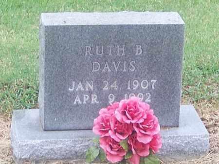 DAVIS, RUTH B. - Craighead County, Arkansas | RUTH B. DAVIS - Arkansas Gravestone Photos