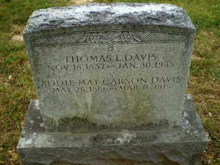 CARSON DAVIS, ADDIE MAY - Craighead County, Arkansas   ADDIE MAY CARSON DAVIS - Arkansas Gravestone Photos