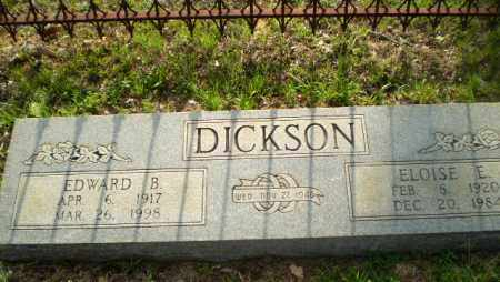 DICKSON, EDWARD B - Craighead County, Arkansas | EDWARD B DICKSON - Arkansas Gravestone Photos