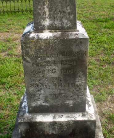 DICKSON, ISABELLA T - Craighead County, Arkansas | ISABELLA T DICKSON - Arkansas Gravestone Photos