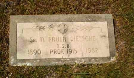 DIETSCHE, SISTER M. PAULA - Craighead County, Arkansas | SISTER M. PAULA DIETSCHE - Arkansas Gravestone Photos