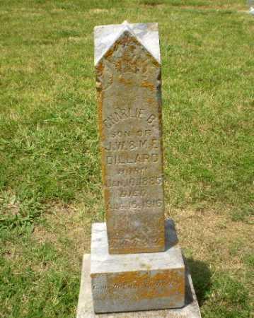 DILLARD, CHARLIE B - Craighead County, Arkansas | CHARLIE B DILLARD - Arkansas Gravestone Photos