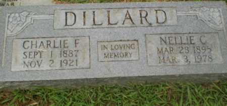 DILLARD, CHARLIE F - Craighead County, Arkansas | CHARLIE F DILLARD - Arkansas Gravestone Photos