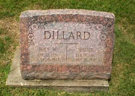 DILLARD, JOHN W - Craighead County, Arkansas   JOHN W DILLARD - Arkansas Gravestone Photos