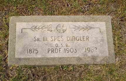 DINGLER, SISTER M.SPES - Craighead County, Arkansas | SISTER M.SPES DINGLER - Arkansas Gravestone Photos