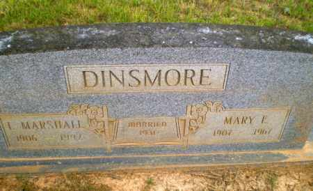 DINSMORE, L.MARSHALL - Craighead County, Arkansas | L.MARSHALL DINSMORE - Arkansas Gravestone Photos