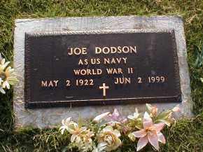 DODSON (VETERAN WWII), JOE - Craighead County, Arkansas | JOE DODSON (VETERAN WWII) - Arkansas Gravestone Photos